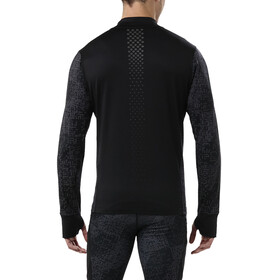 asics Lite-Show LS Half-Zip Men lite stripe performance black